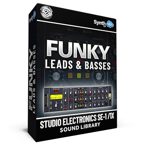 SCL297 - Funky Leads & Basses - Studio Electronics SE-1 / 1X