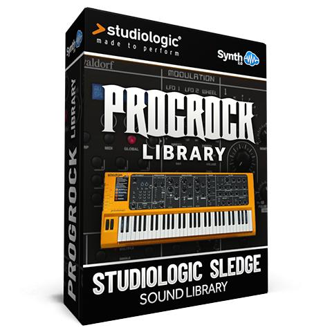 SCL237 - ProgRock Library - Studiologic Sledge 1.0 / 2.0