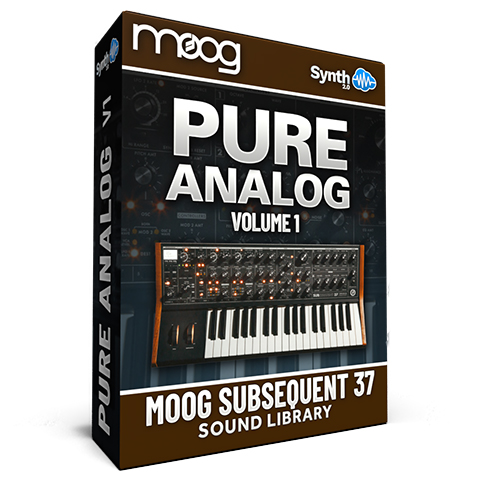 SCL270 - Pure Analog Vol.1 - Moog Subsequent 37