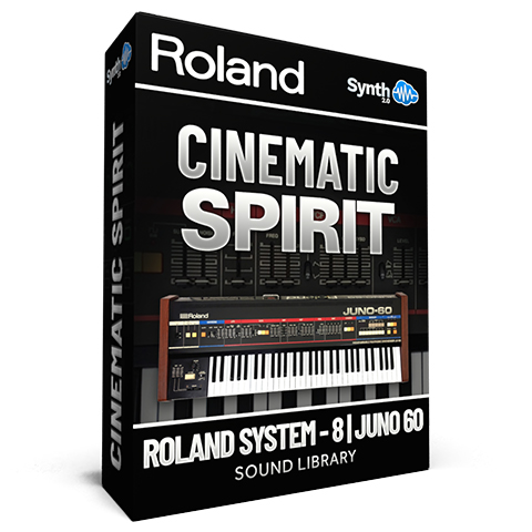 LFO013 - Cinematic Spirit - Roland System 8 + Juno-60 Plugin - Roland Cloud