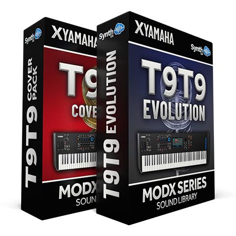 LDX202 - ( Bundle ) - T9t9 Evolution + T9t9 cover pack - Yamaha MODX