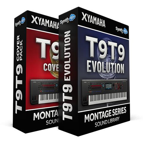 LDX202 - ( Bundle ) - T9t9 Evolution + T9t9 cover pack - Yamaha MONTAGE