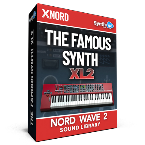 SLL024 - The Famous Synth XL Vol.2 - Nord Wave 2