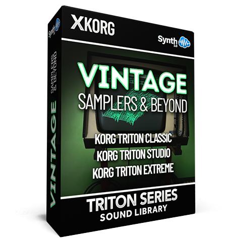 SCL234 - Vintage Samplers & Beyond - Korg Triton CLASSIC / RACK / STUDIO / EXTREME
