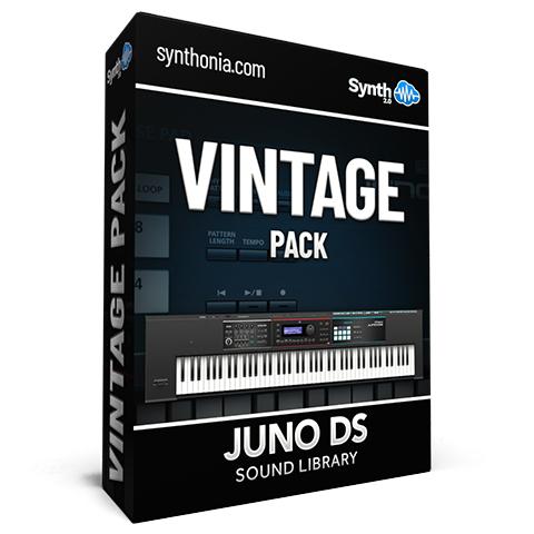 LDX194 - Vintage Pack - Juno-DS