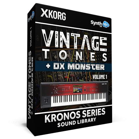 SSX05 - Vintage Tones V.1 + DX Monster - Korg Kronos Series