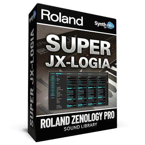 SCL132 - Super Jx-logia - Roland Zenology Pro