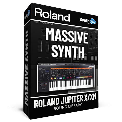 LDX183 - Massive Synth - Roland Jupiter X / Xm