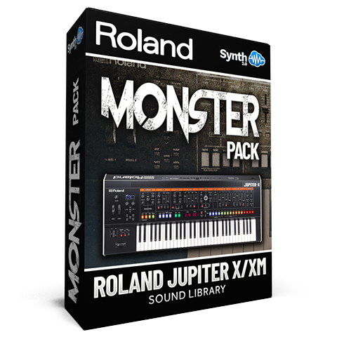 SCL300 - Monster Pack - Roland Jupiter X / Xm