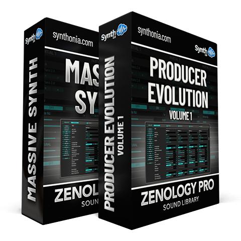 SCL230 - ( Bundle ) - Producer Evolution V1 + Massive Synth - Zenology Pro