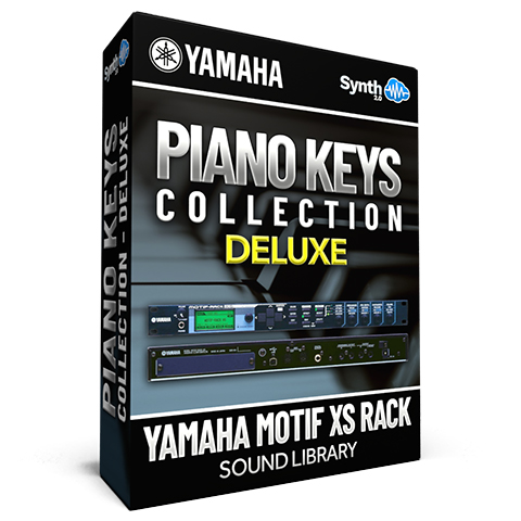 SCL87 - Piano & Keys / Collection DELUXE - Yamaha Motif XS Rack