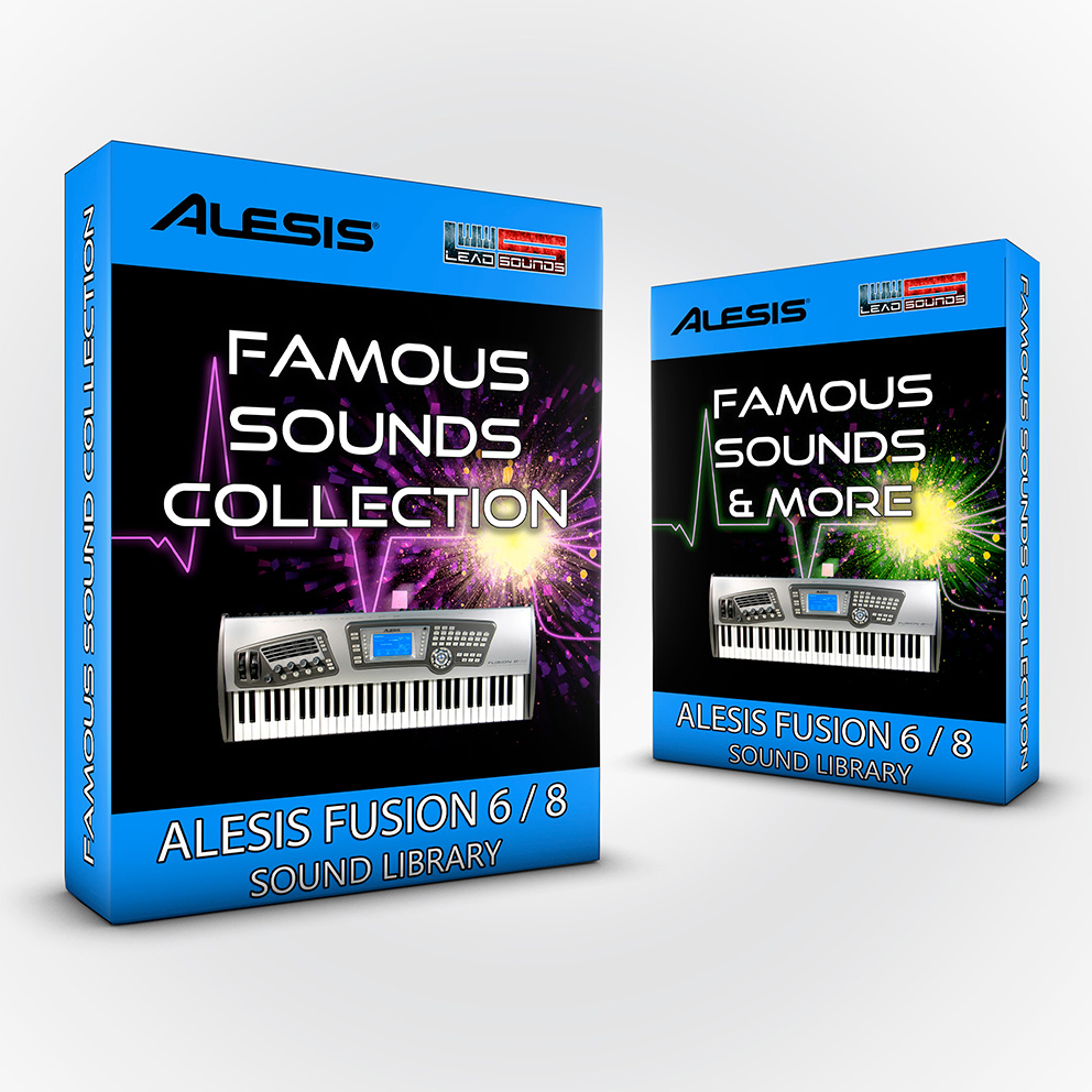 SCL35 - ( Bundle ) - Famous Sounds Collection + Famous Sounds and more - Alesis Fusion 6/8