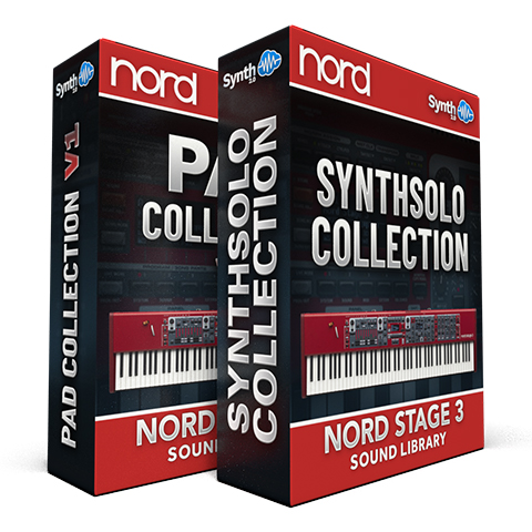 ASL015 - ( Bundle ) - Pad Collection V1 + Synth Solo Collection - Nord Stage 3