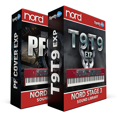 SCL330 - ( Bundle ) - PF EXP Cover Pack  + T9T9 EXP Cover Pack - Nord Stage 3