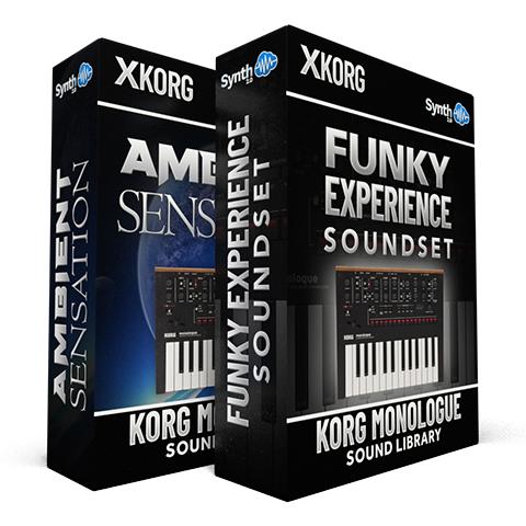 SCL346 - ( Bundle ) - Ambient Sensation + Funky Experience Soundset - Korg Monologue