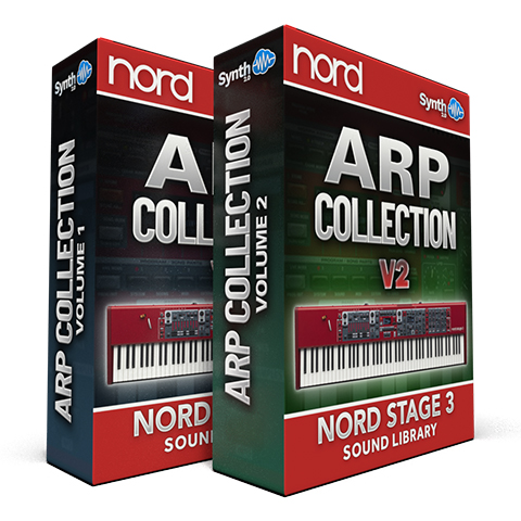 ASL034 - ( Bundle ) - Arp Collection V1 + V2 - Nord Stage 3