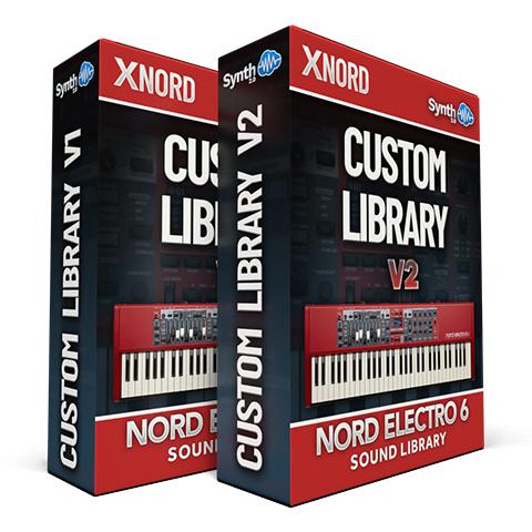 SCL273 - ( Bundle ) -  Custom Library V1 + V2 - Nord Electro 6