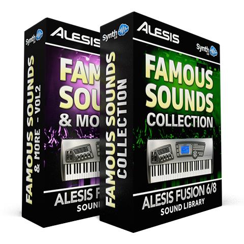 SCL35 - ( Bundle ) - Famous Sounds Collection + Famous Sounds and more - Alesis Fusion 6/8