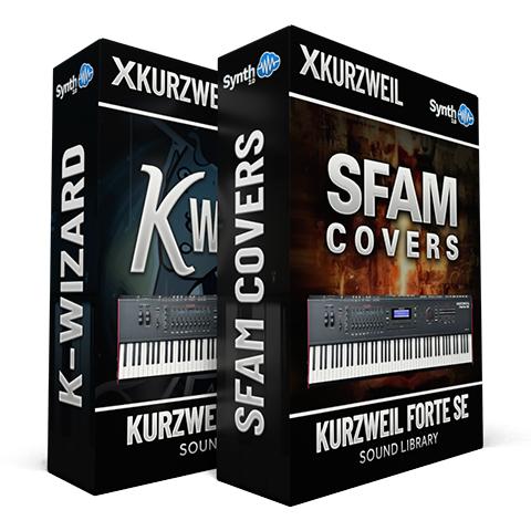 LDX141 - ( Bundle ) - SFAM + K-Wizard - Kurzweil Forte SE