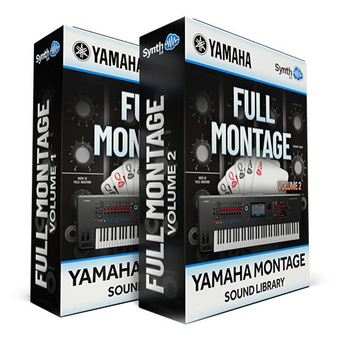 SCL278 - ( Bundle ) - FULL MONTAGE Vol.1 + Vol.2 - Yamaha MONTAGE