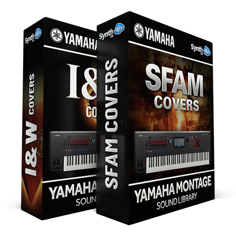 SCL317 - ( Bundle ) - I&W Covers + Sfam Covers - Yamaha MONTAGE