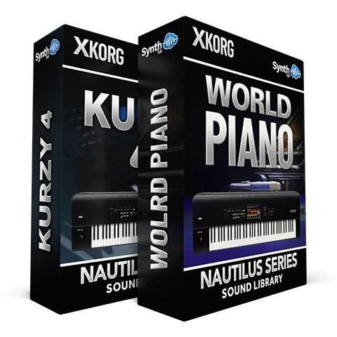 SSX15 - ( Bundle ) - World Piano + Kurzy 4 - Korg Nautilus