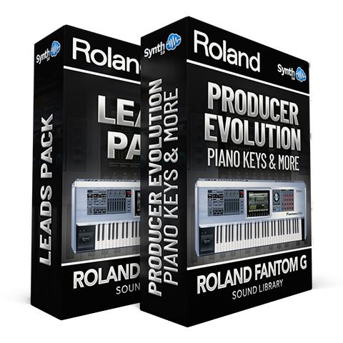 SCL24 - ( Bundle ) - Leads Pack + Producer Evolution - Roland Fantom G