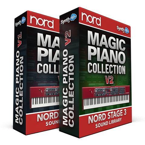 ASL032 - ( Bundle ) - Magic Piano Collection V1 + V2 - Nord Stage 3