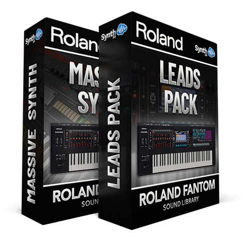 SCL294 - ( Bundle ) - Massive Synth + Leads Pack - Roland Fantom