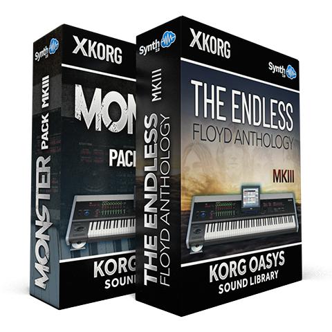 SCL83 - ( Bundle ) - Monster Pack MKIII + The Endless Floyd Anthology - Korg Oasys