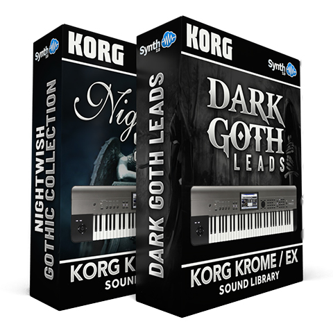 LDX08 - ( Bundle ) - Nightwish Gothic Collection + Dark Goth Leads - Krome / Krome EX