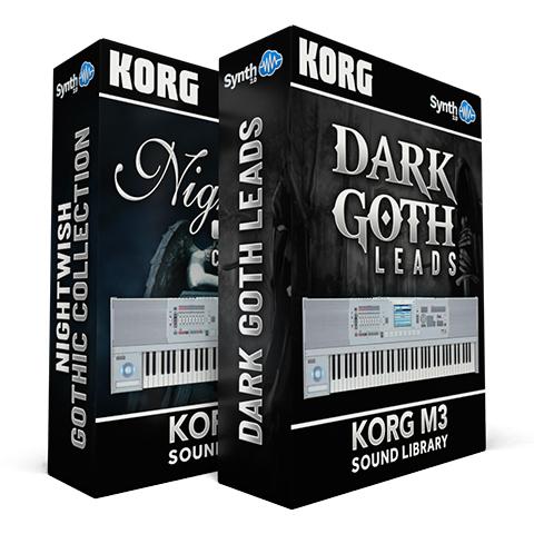 LDX08 - ( Bundle ) - Nightwish Gothic Collection + Dark Goth Leads - M3