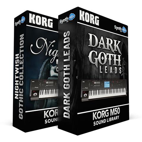 LDX08 - ( Bundle ) - Nightwish Gothic Collection + Dark Goth Leads - M50