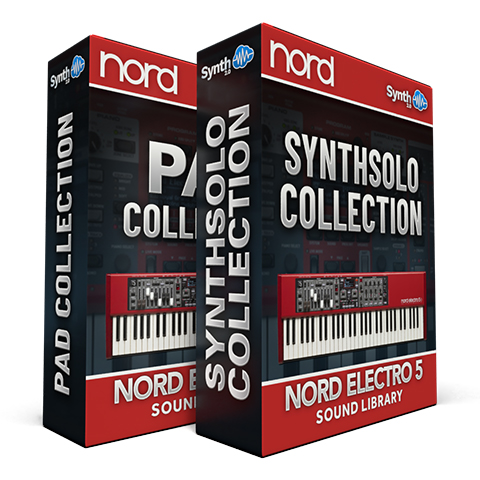 ASL015 - ( Bundle ) - Pad Collection + Synth Solo Collection - Nord Electro 5