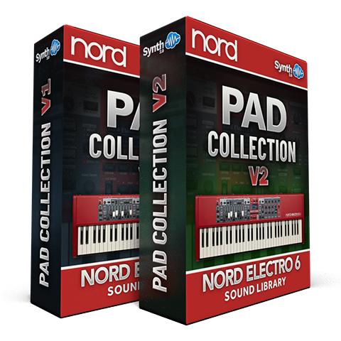 ASL033 - ( Bundle ) - Pad Collection V1 + V2 - Nord Electro 6 Series
