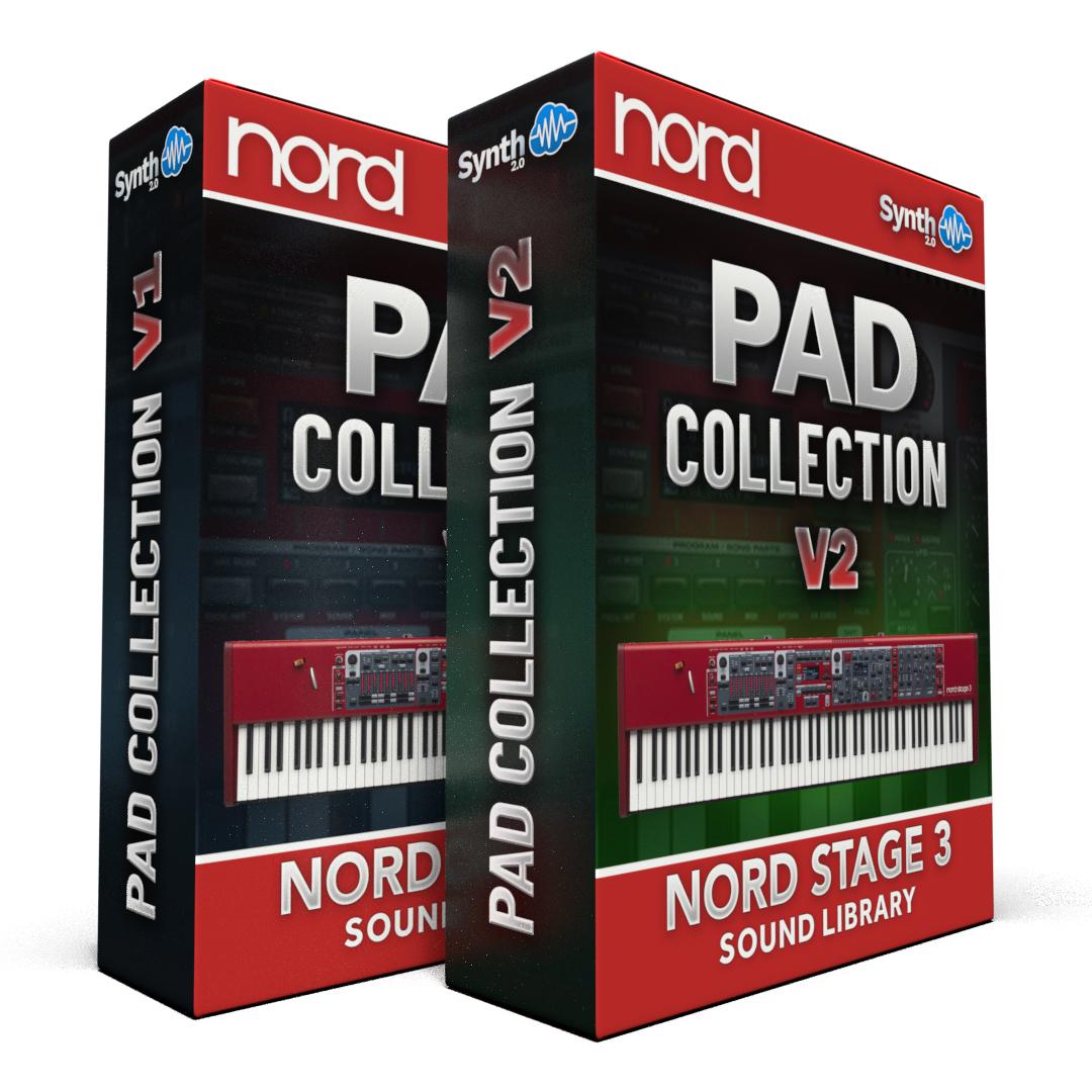 ASL033 - ( Bundle ) - Pad Collection V1 + V2 - Nord Stage 3