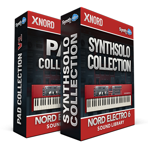 ASL015 - ( Bundle ) - Pad Collection V1 + Synth Solo Collection - Nord Electro 6 Series