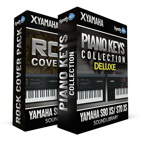 SCL327- ( Bundle ) - Rock Cover Pack + Piano & Keys DELUXE - Yamaha S90XS / S70XS