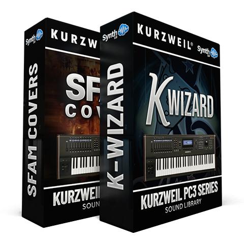 LDX141 - ( Bundle ) - SFAM + K-Wizard - Kurzweil PC3 Series