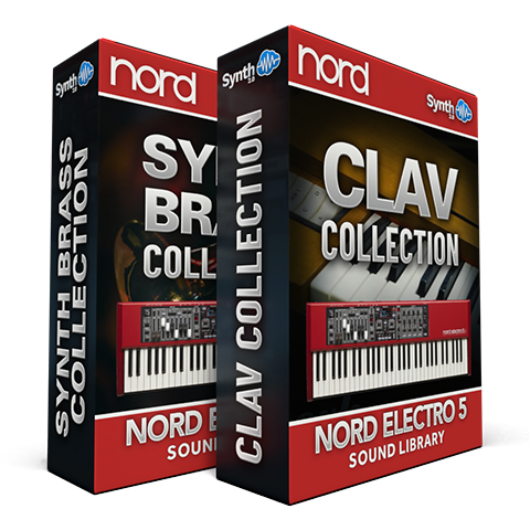 ASL014 - ( Bundle ) - Synth - Brass Collection + Clav Collection - Nord Electro 5