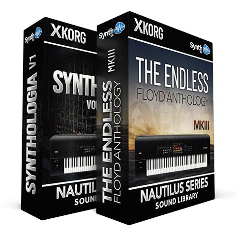 SSX114 - ( Bundle ) - Synthologia EXi + The Endless Floyd Anthology - Korg Nautilus
