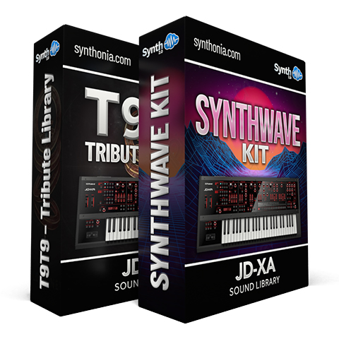 SCL120 - ( Bundle ) - T9t9 Tribute Library + Synthwave Kit Vol.1 - JD-XA