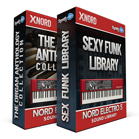 SCL86 - ( Bundle ) - The Organ Anthology Collection + Sexy Funk Library - Nord Electro 5 Series