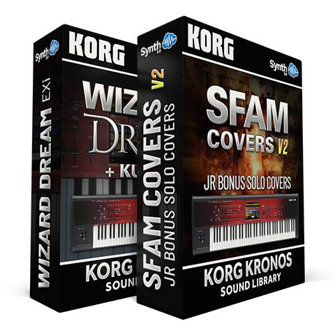 LDX207 - ( Bundle ) - Wizard Dream EXi + Kurzy 4 + Sfam Full 3.0 - Korg Kronos Series