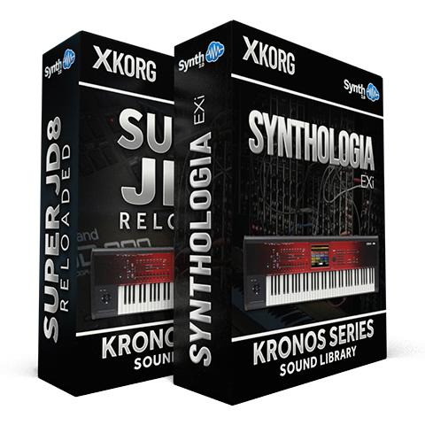 SSX116 - ( Bundle ) - Synthologia EXi + Super JD8 Reloaded - Korg Kronos Series