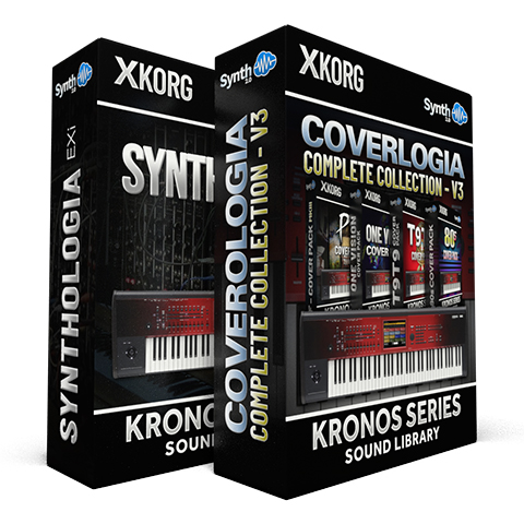 SCL13 - ( Bundle ) - Synthologia EXi + CoverLogia - Complete Cover Collection V3 - Korg Kronos Series