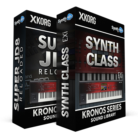 SSX138 - ( Bundle ) - Synth Class EXi + Super JD8 Reloaded - Korg Kronos Series