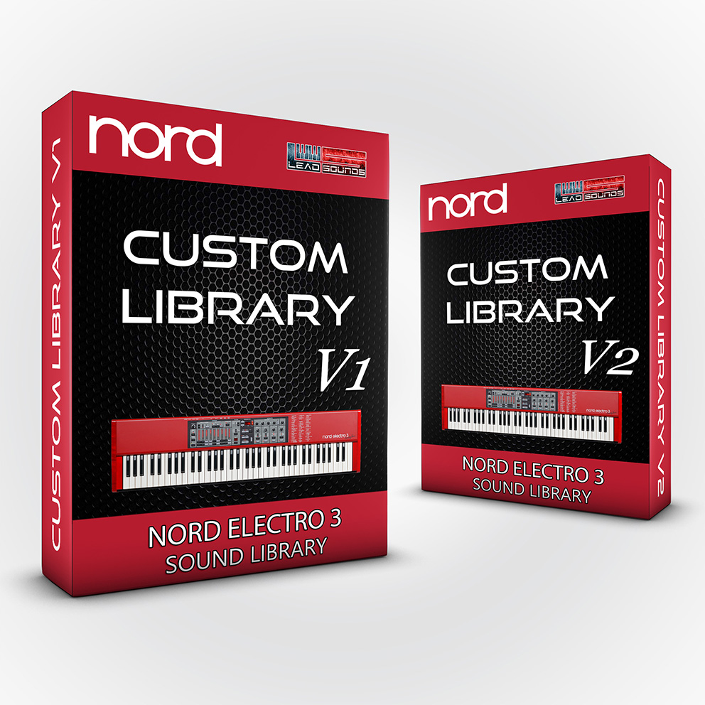 SCL77 - ( Bundle ) Custom Library V1 + V2 - Nord Electro 3