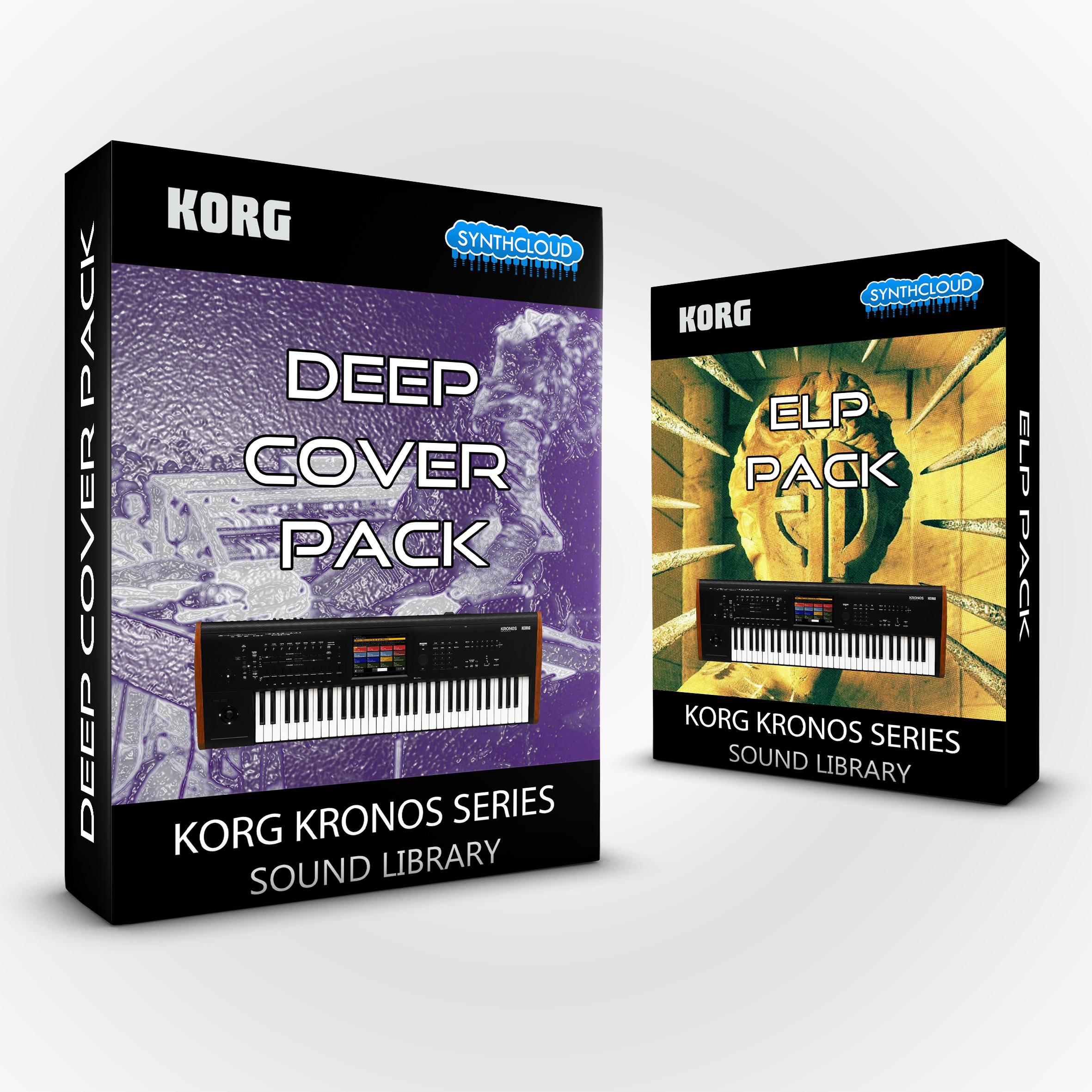 SCL202 - ( Bundle ) Deep Cover Pack + ELP Pack - Korg Kronos Series