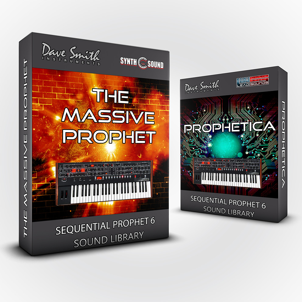 LDX187 - ( Bundle ) The Massive Prophet + Prophetica - DSI Sequential Prophet 6 / Module